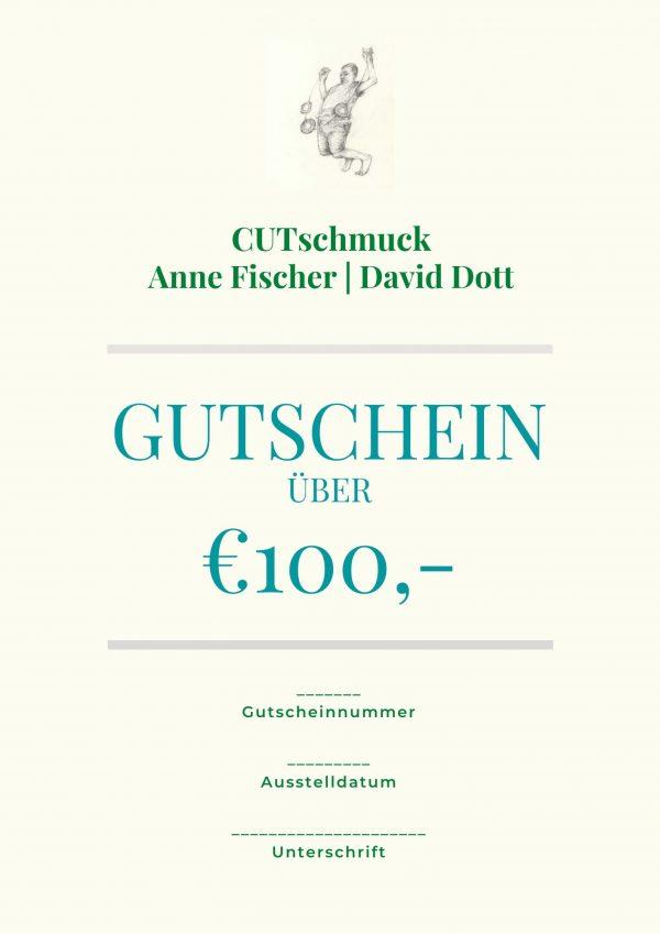 Gutschein von Cutschmuck, Anne Fischer und David Dott