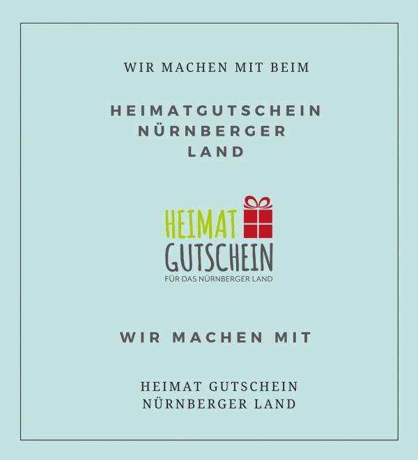 Wir machen mit beim Heimatgutschein für das Nürnberger Land