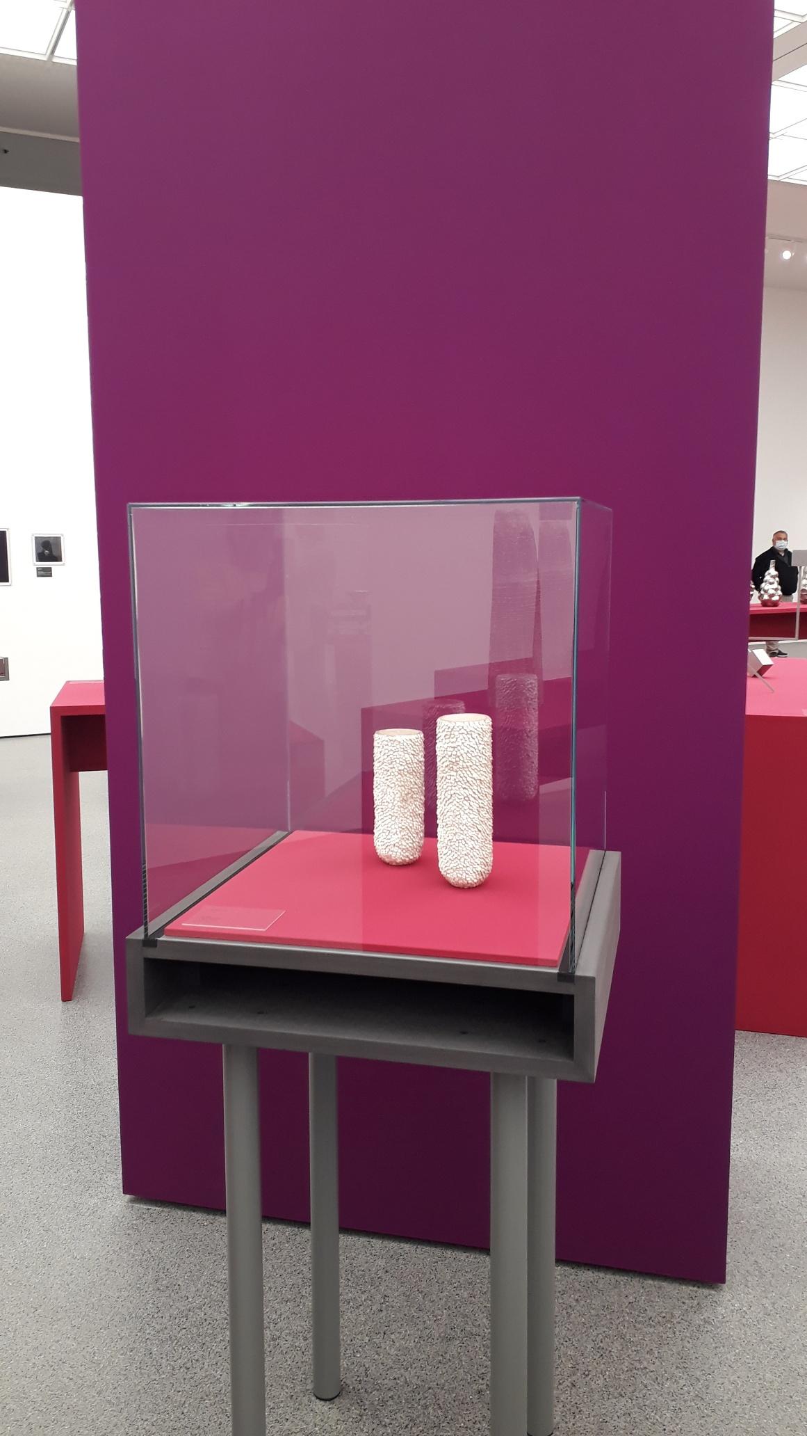 Arbeit von Anne Fischer in der Danner-Preis Ausstellung in der Pinakothek der Moderne in München